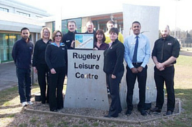 Rugeley Leisure Centre among best in country