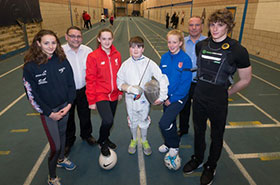 Talent fund supports more young sporting stars