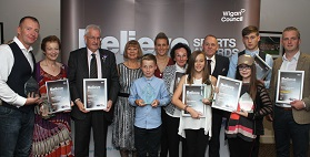Sporting talent celebrated at awards ceremony