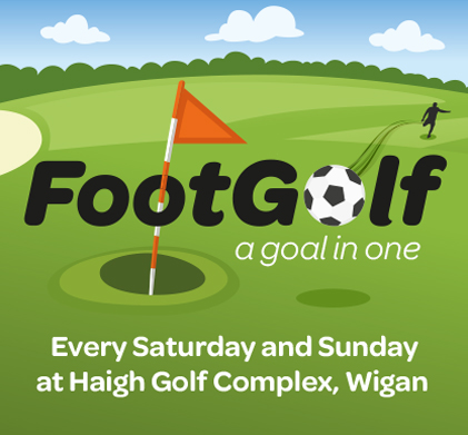 Come try Footgolf at Haigh Golf Complex!