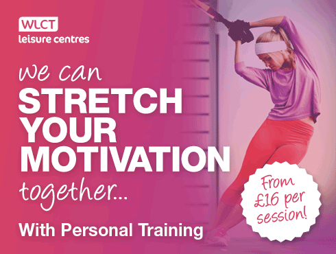 Book a personal training package from just £16 per session!
