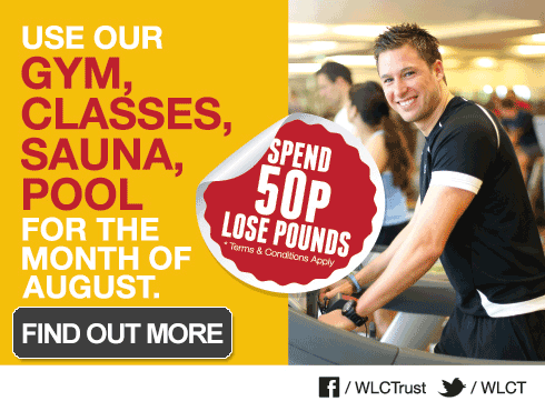 Get fit in August for just 50p a day!