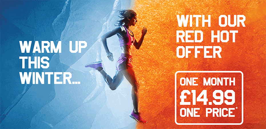 Swim, workout and enjoy fitness classes - all for just £14,99, all December long...