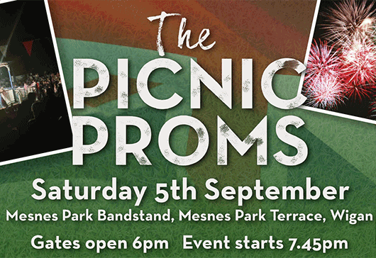 Join us for The Picnic Proms at Mesnes Park on Saturday 5 September...