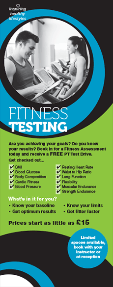 Try fitness testing and get to know your body better